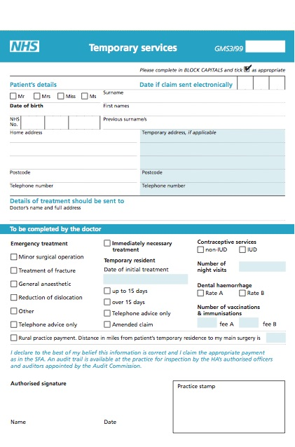 temporary registration - york medical group